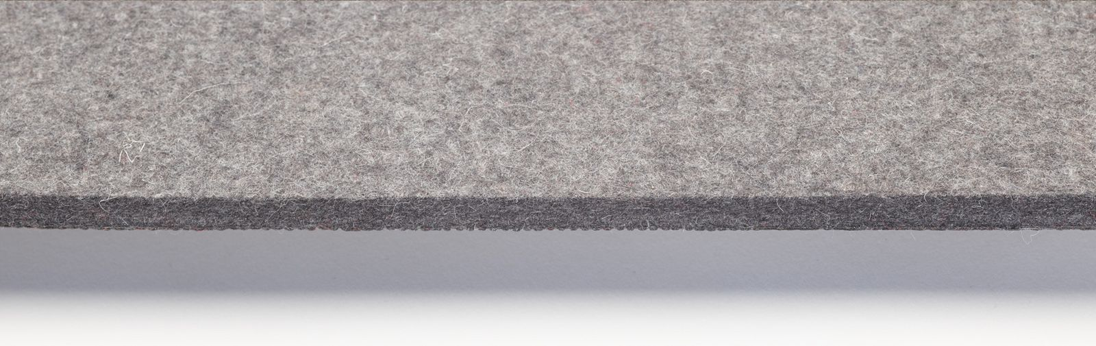pew runner felt color grey