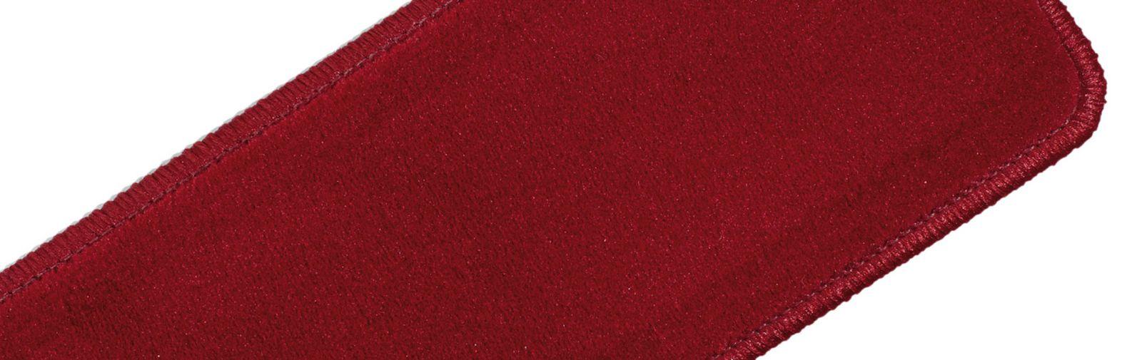 sample hassock plain velvet color code 611 color light red