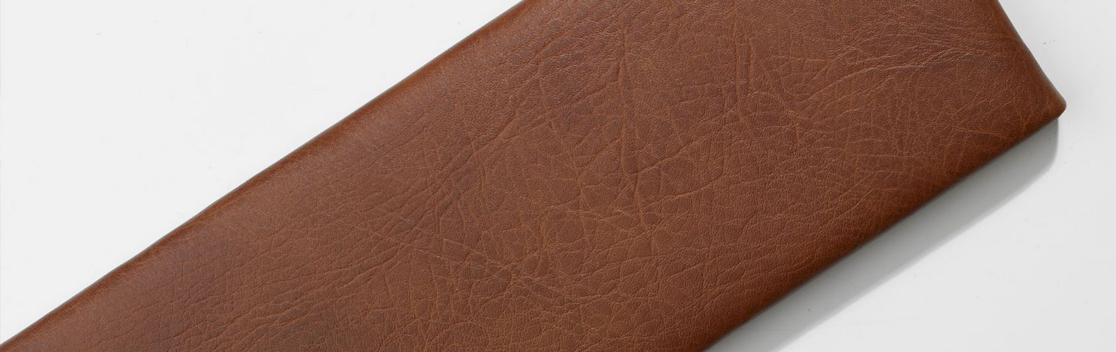 sample hassock faux leather color brown