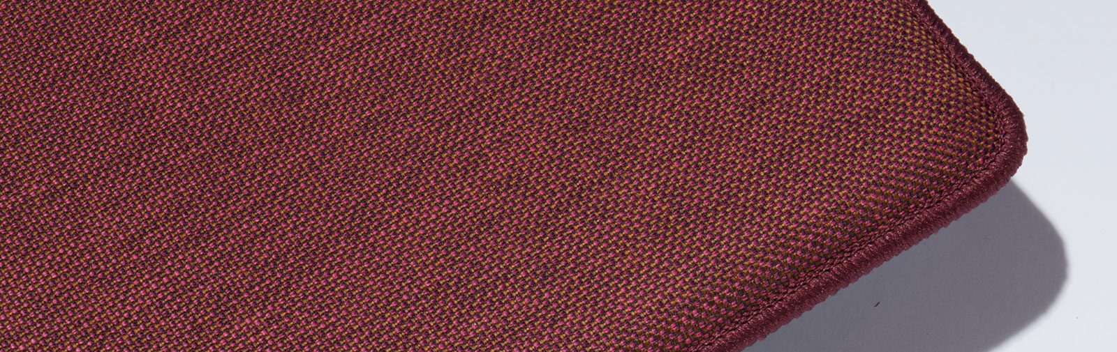 Pattern Cushion Pew Runner Bankauflage Verano Color code 662 Color purple