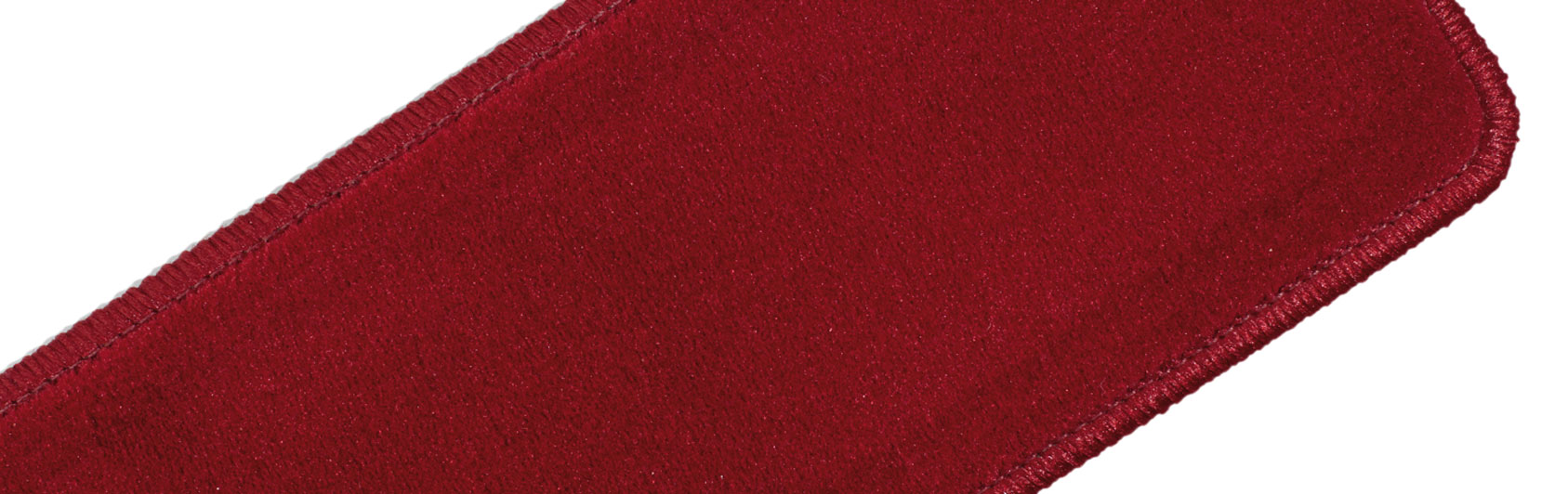 sample hassock plain velvet color code 611 color light red
