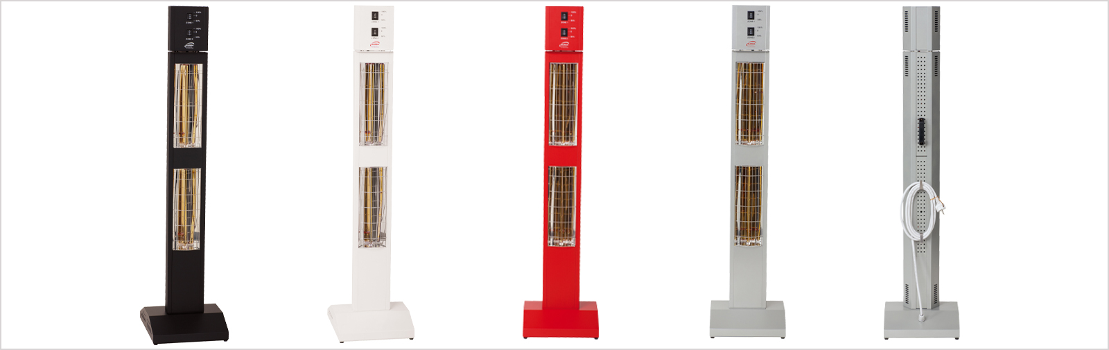 infrared upright radiant heater Smart Tower IP24