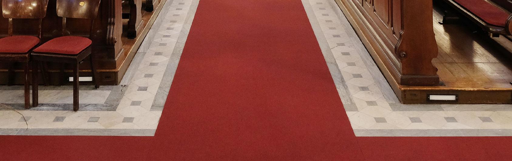 church carpet Perlon Rips